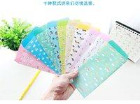 Papelería sobre de papel España-Los animales lindos de Wholesale-10PCS / lot envuelven el sobre para las invitaciones coreanas de la letra de la boda del regalo de Scrapbooking de la tarjeta papelaria