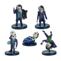 Wholesale Batman The Joker PVC Action Figure Collection Toy Keychain or Model Toy set quot about cm