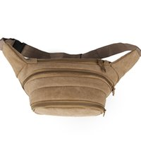 Wholesale Men s canvas pockets diagonal cross outdoor sports Messenger bag running pocket pants hot sales promotions