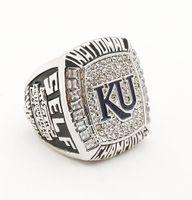 Cluster Rings anniversary university - 2008 NCA University of Kansas D design High quality Replica Championship ring STR0