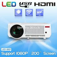amazing education - amazing Lumens Home Theater Projector Android LED Wifi RJ45 P HD LCD Projectors with HDMI VGA USB connect phone