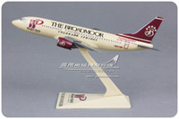 airlines jet - 17cm Assembling Plastic Western Pacific Airlines aircraft Boeing B737 airplane model