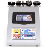 CE Face Lift  Facial Tighten 40K Ultrasonic liposuction cavitation slimming machine tripolar sixpolar bipolar vacuum RF machine Fat Loss Beauty Machine