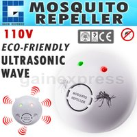 Wholesale AR V V Double Insulation Ultrasonic Mosquito Repeller Repellent Pest Bug Control Electronic Killer