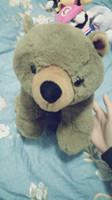 Wholesale Brown bear cute gift doll present giving lovely Plush toys Comfortable soft nice children kid gir