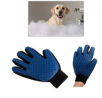 Wholesale Custom Logo Drop Shipping Popular Massage True Glove Touch Gentle Efficient Pet Grooming Dogs Cats Bath