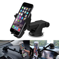 Wholesale car mount holder cell phone holder car hoder GPS holder long neck degree adjustable universal with strong suction cup