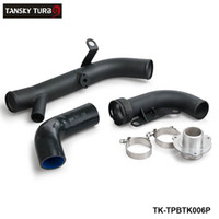 Wholesale TANSKY Turbo Discharge Pipe Conversion For VW R20 Golf Scirocco R FOR AUDI TTS FSI Turbo Piping Kits TK TPBTK006P