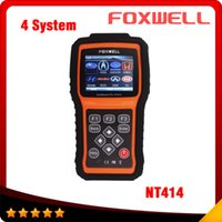 automotive air bag - Automotive scanner Car Diagnostic Tool Foxwell NT414 For Air Bag SRS Reset Tool Engine Oil Light Reset EPB Service Tool DHL free