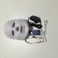 Wholesale pdt led facial mask red blue light therapy anti aging acne treatment skin care beauty equipment