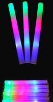 Las barras coloridas de 10pcs LED llevaron el palillo de la espuma que destellaba del palillo de la espuma, luz que animaba el palillo de la luz del concierto del palillo de la espuma del resplandor EMS