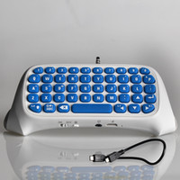 Wholesale for PS4 Accessories Message Chatpad for SONY Playstation Slim Pro Controller Wireless Keyboard Joystick PS4 Slim Pro Play Station4