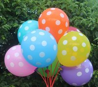 Wholesale Best price inch Point Balloons Girl Boy Printed Party Decoration pack