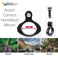 Wholesale Wewow B1 Bike Metal Clip Bracket Handlebar Mount Install Tool Accessories For Go pro HD Camera Hero3 Sjcam
