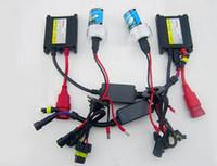 achat en gros de conversion de h11-DC 12V 35W HID LIGHT 12v Pour la conversion des phares H1 H3 H4-2 H7 H9 H10 H11 9005 9006 4300k 6000k 8000K HID LIGHT XENON LAMP