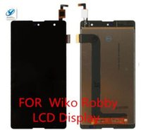 Affichage d'origine France-Vente en gros - Pour Wiko S-Kool Wiko Robby LCD Display + Touch Screen Original Screen Digitizer Remplacement d'assemblage pour Wiko S-Kool