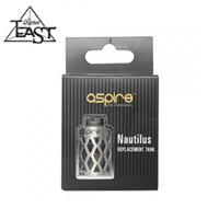 100% Original Aspire mini nautilus tube de remplacement creux Nouveau Nautilus Mini réservoir de remplacement creusé manchon 2,0 ml