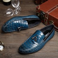 apartment brands - 2017 new men leisure leather casual shoes brand high quality office apartment soft moccasins man oxfords wedding dress shoes