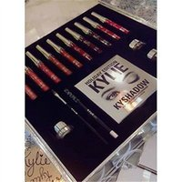 big eye shipping boxes - KYLIE jenner Holiday Edition Big Box pre sale include color lip gloss Shadow Palette cream shadow eye linner