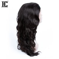 Wholesale HC Hair Brazilian Wet and Wavy Lace Front Human Hair Wigs For Black Women Glueless Nature Wve Water Wave Lace Front Wigs inch