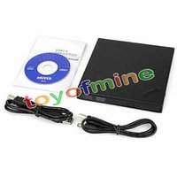 Wholesale Portable USB2 External DVD Combo CD RW Burner Rom Drive Combo DVD Player or Laptop Desktop Tablet PC Notebook