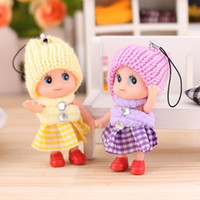 baby toys and accessories - New Christmas Kids Toys Soft Interactive Baby Dolls Toy Mini Doll For girls and boys gift