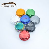 Wholesale TRD Racing Neo Chrome Anodizing Aluminum Oil Tank Cap Cover Forged Billet Oil Cap For Toyota