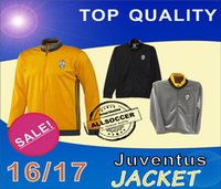 Wholesale 16 Juventuses three kinds jacket Mens top thailand quality soccer training jerseys soccer sweater Training clothes Soccer Jerseys