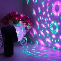 Wholesale New Car Crystal Music rhythm DJ disco stage effects12V mini LED car decoration light automobile lamp bulb flashing Hot Selling