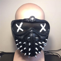 Wholesale Game DedSec WatchDogs mask Cosplay Wrench PVC watch dogs Aiden Pearce masks New arrival