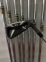 8PCS M2 Golf Irons 456789PS avec Dynamic Gold Steel S300 Shaft Come headcover M2 Clubs de golf Irons