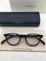 Wholesale Brand glasses Classic Vintage retro style frame oliver peoples OV eyeglasses Gregory peck ov eyeglasses for women and men eyewear