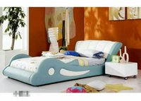 Wholesale Home bedroom furniture simple modern type bed double bed single bed double bed tatami bed manufacturers