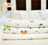 Wholesale Ran Beibei bamboo fiber cotton knit infants and young children to hold the blanket package was a single baby wrapped multi functional air
