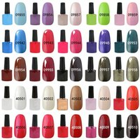 Wholesale NEW Fashion colors Gel nail Polish Long lasting Soak off UV LED Nail art