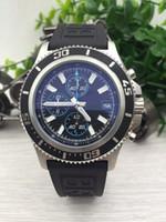 battery seller - top seller classic brand new watches men superocean ii6 herie watch black dial watch quartz chronograph watch mens dress wristwatches