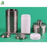 autoclave laboratory - 1000ml Teflon Lined Hydrothermal Synthesis Autoclave Reactor High Pressure Digestion Tank Mpa TOPTION Laboratory Equipment Supplies