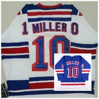 Wholesale Mens JT Miller Jersey Ice Hockey New York Ranger Jerseys Cheap Full Stitched Embroidery Logo Blue White Size M XL