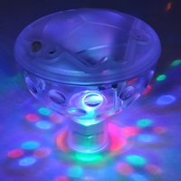 ac baths - 5 Fashion Color Changing Glowing LED Underwater Light Show Swimming Pool Disco Party Spa Bath Pond Waterproof Lights LEG_028