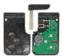alarm programmer - High quality New RENAULT MEGANE SCENIC II CLIO ETC RF TYPE BUTTON REMOTE ALARM KEY FOB CARD