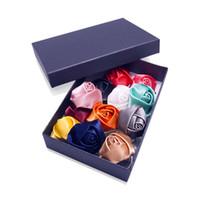 Wholesale Argositment Wedding Rose Boutonniere for Men s Suit Handmade Lapel Pin Flower