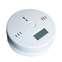 Wholesale home gas detectors alarm pc Wireless Battery operated Alert Smoke Carbon Monoxide CO Detector Gas Alarm A