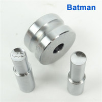 Wholesale Batman mm Stamp Circlar Round Die Mold Pill Press Mold Punch Die Mould for Single Punch Pill Press Machine