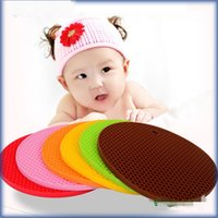Wholesale Super Candy Thickening Honeycomb Silicone Pad Anti Skid Pads High Quality Heatproof Table Mats Direct Deal ww