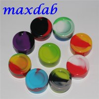 Wholesale Silicone Wax Containers Oil Non stick Silicone Silicon Oil mL mm Containers Jars Wax Concentrate Containers For Dabs Jar