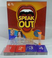 Wholesale SPEAK OUT Game Interesting Party Game Watch Your Mouth Best Selling Board Game festive supplies
