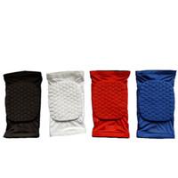 Wholesale Mcdavid honeycomb short kneepad basketball Leg Sleeve tape Breathable Pad Bumpersupport Sport Safety Compression Knee brace