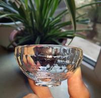 antique crystal bowl - A Tibetan Buddhist Handmade Rock Crystal Quartz White Crystal Bowl Holy Water Cup cm cm