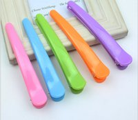 Wholesale South Korea fish mouth clip hair duck mouth clip bang clip Color plastic clip clip accessories increase number cm