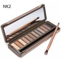 best makeup green eyes - Hot sale Best Makeup Eye Shadow color eyeshadow palette NUDE via DHL